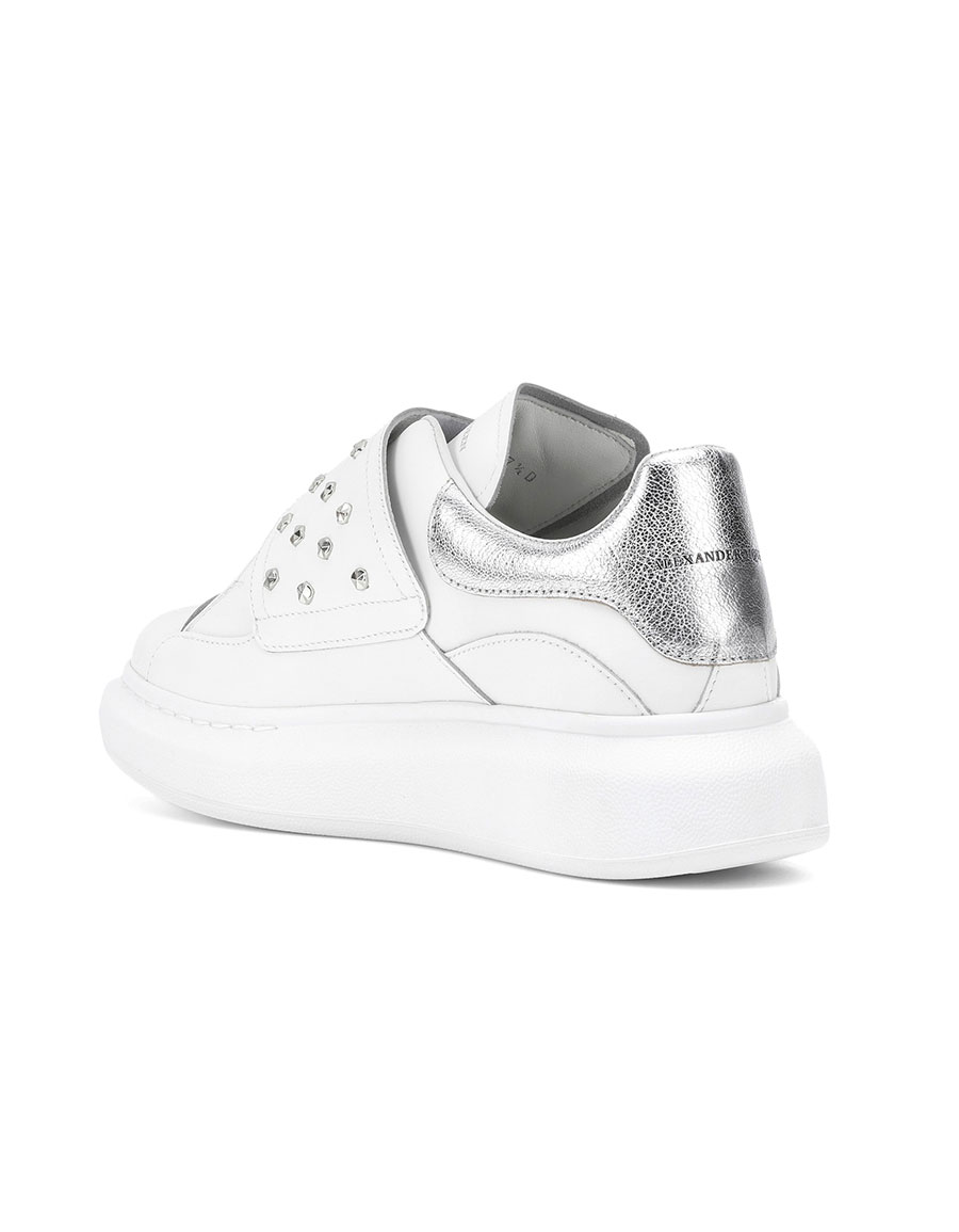 ALEXANDER MCQUEEN Studded leather sneakers