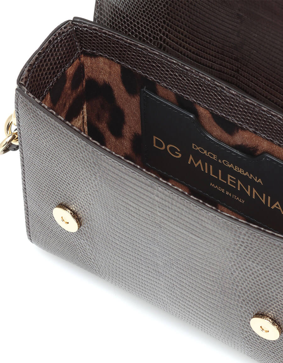 DOLCE & GABBANA DG Millennials Mini leather shoulder bag