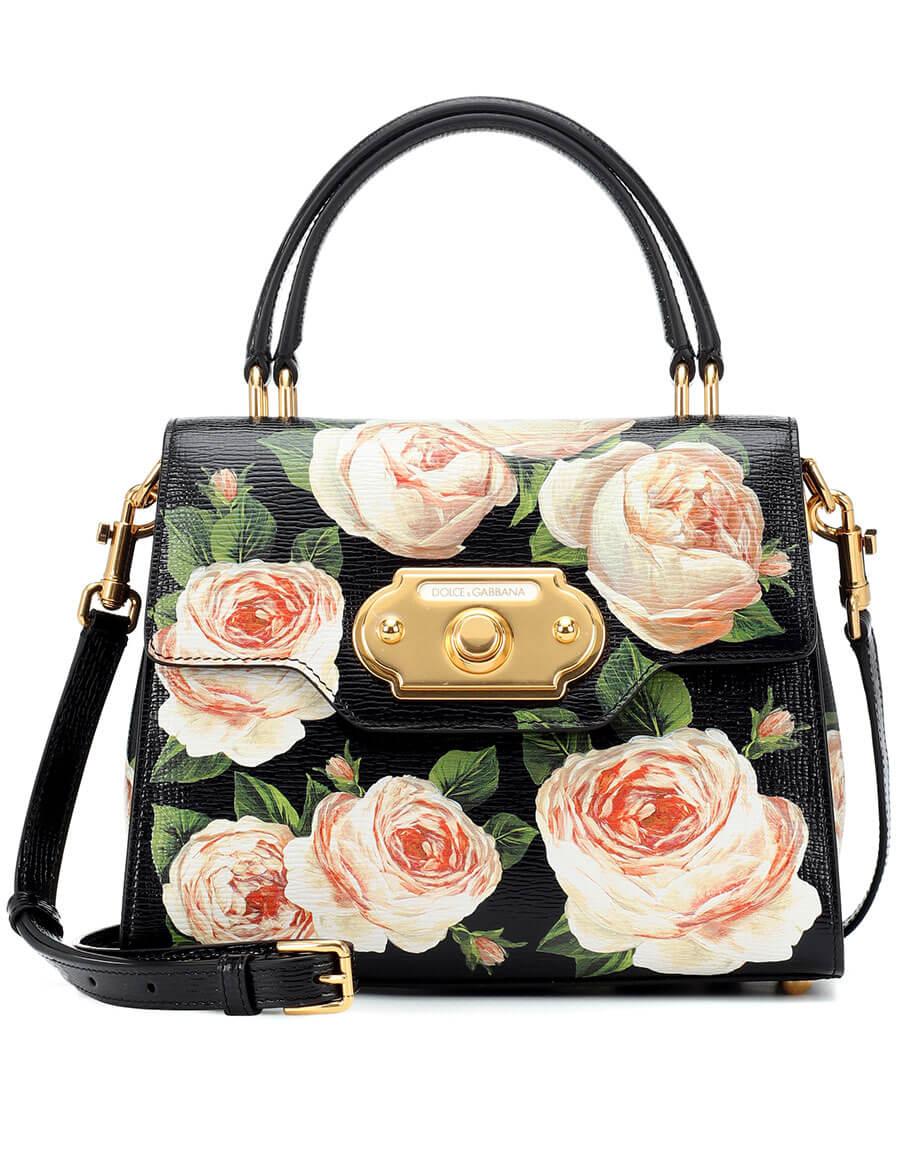 DOLCE & GABBANA Welcome Medium leather shoulder bag