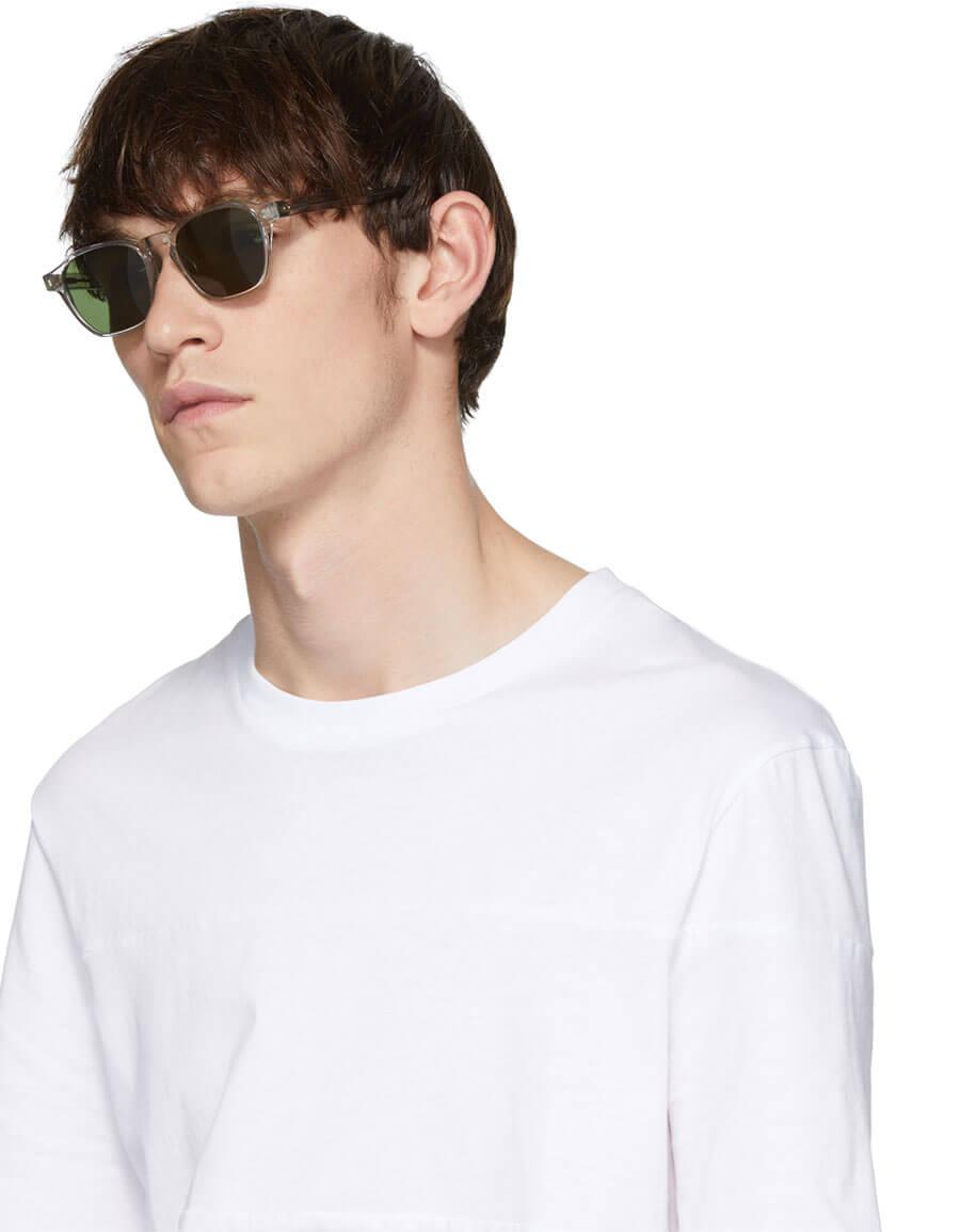 RAEN Transparent Aren Sunglasses