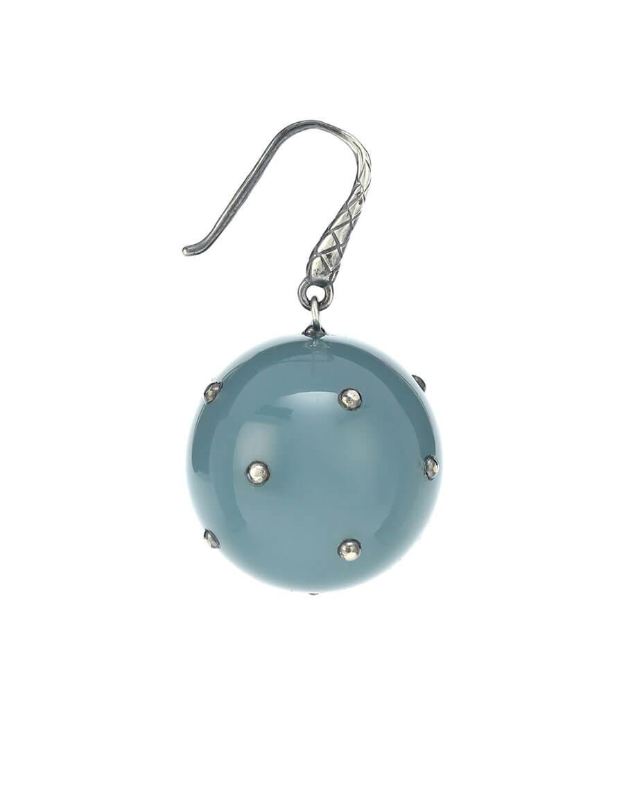 BOTTEGA VENETA Embellished resin earrings