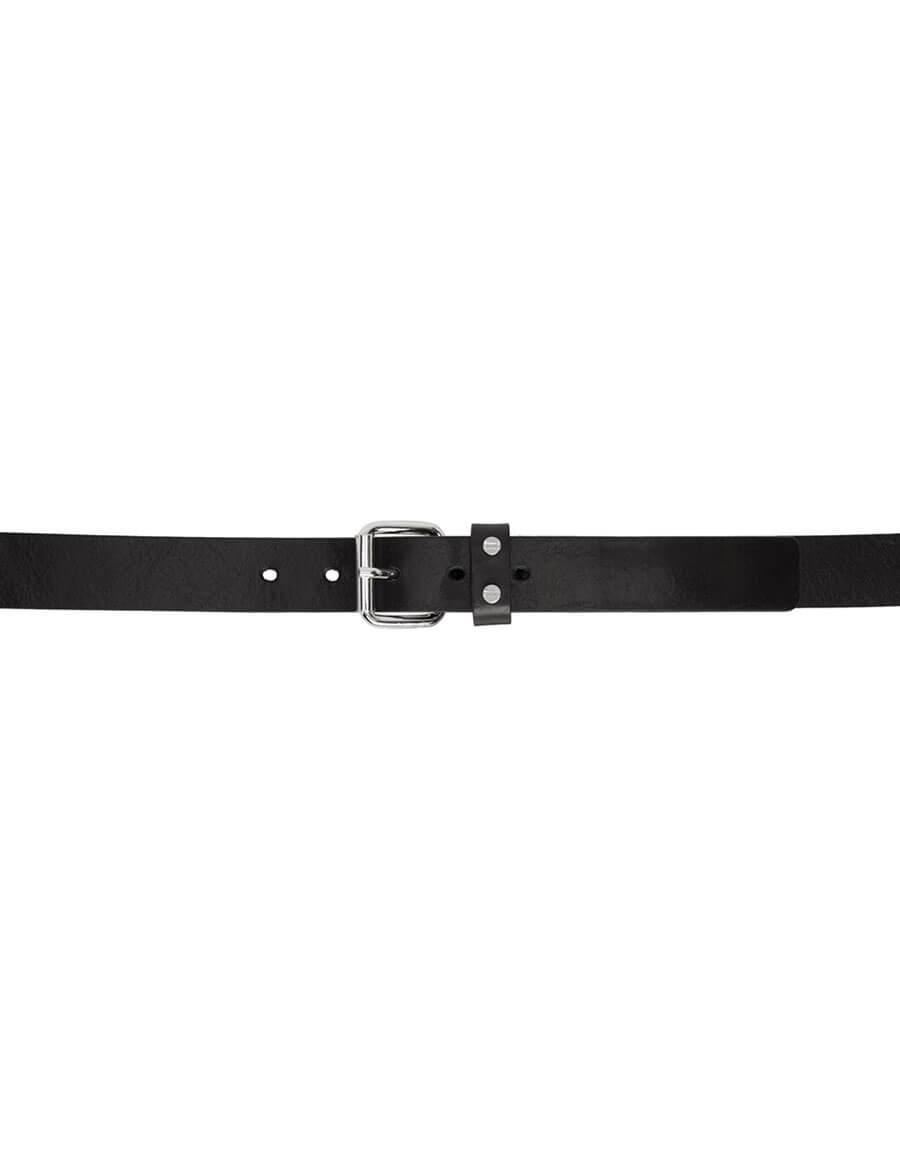 ALEXANDER MCQUEEN Black Roller Belt