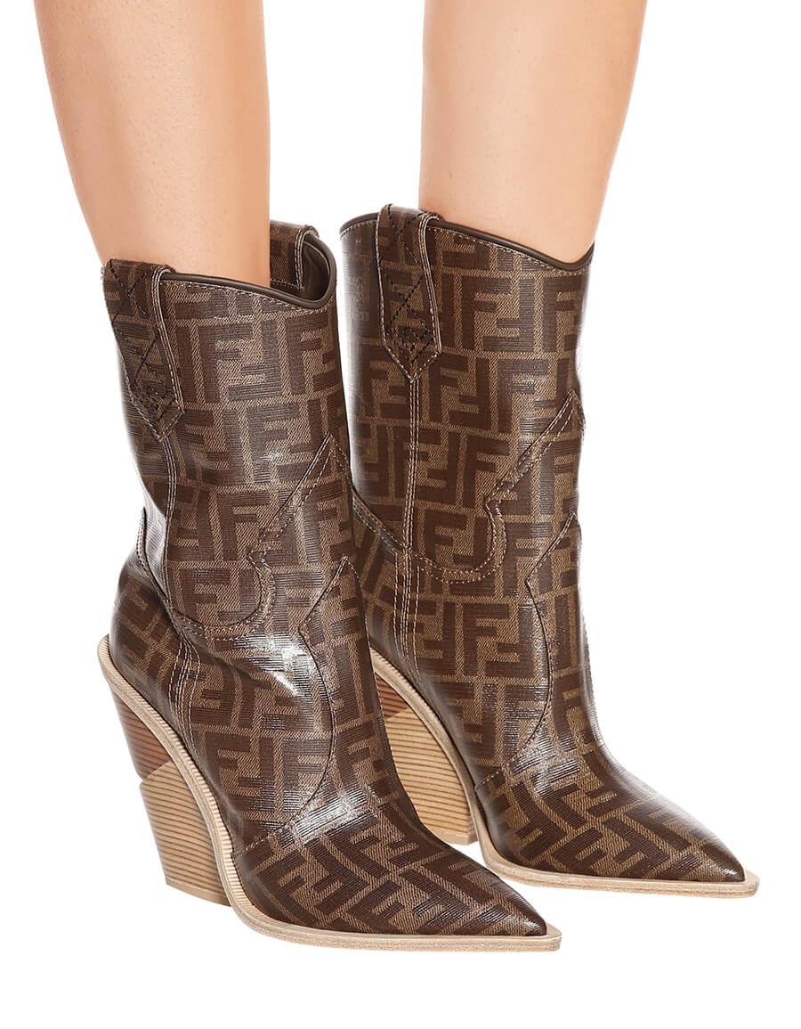 FENDI Printed cowboy boots · VERGLE