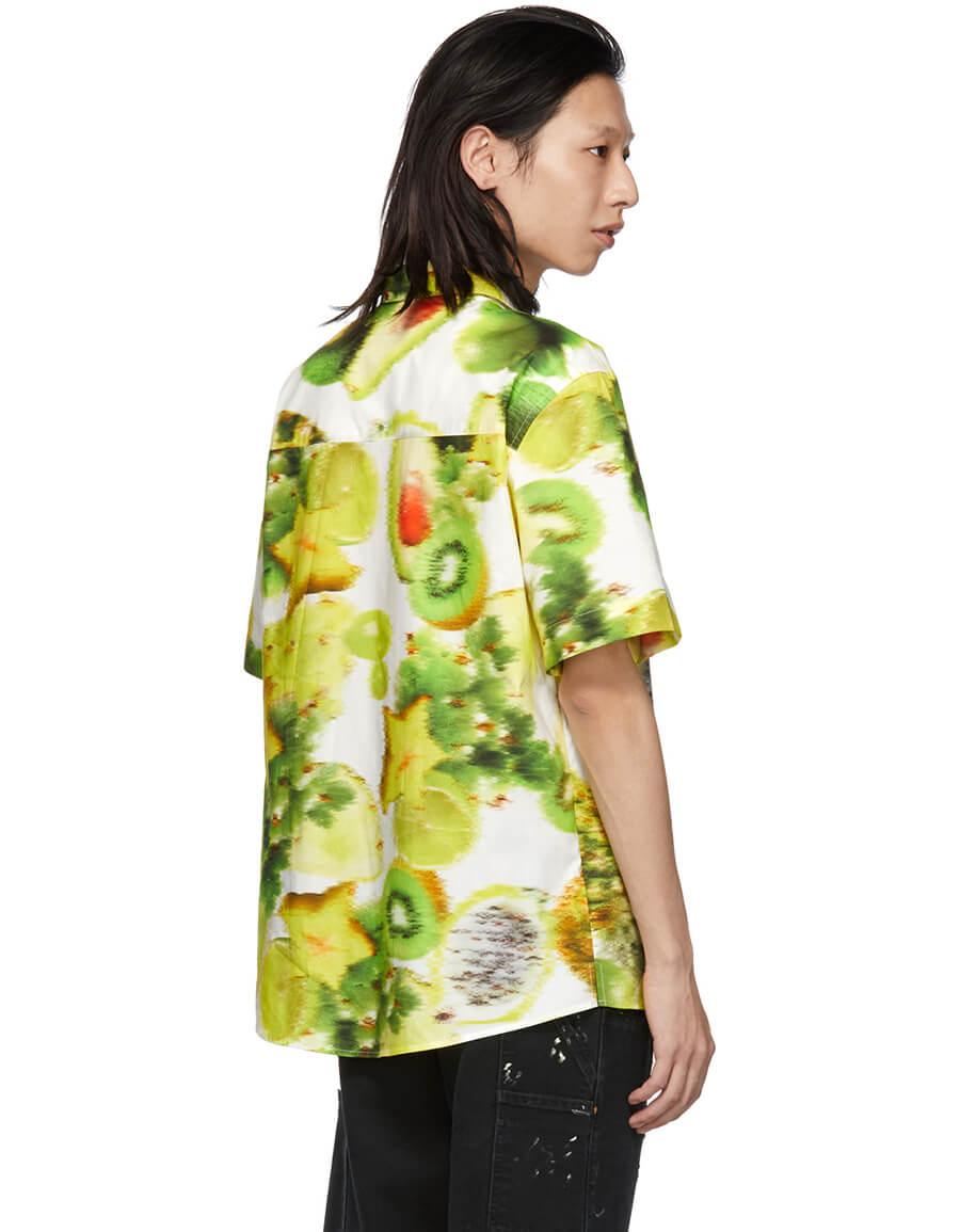 MSGM Multicolor Fruit Graphic Shirt