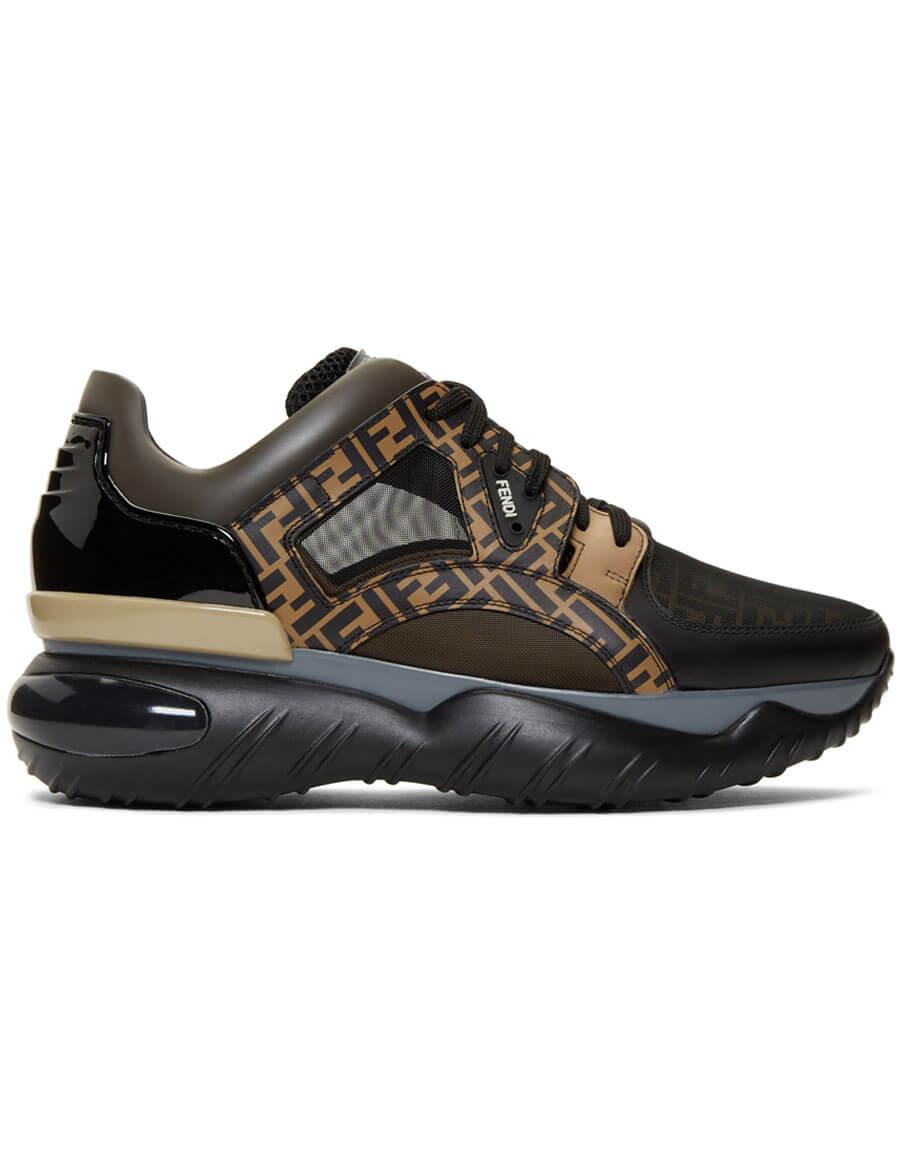 Brown 'Forever Fendi' Sneakers · VERGLE