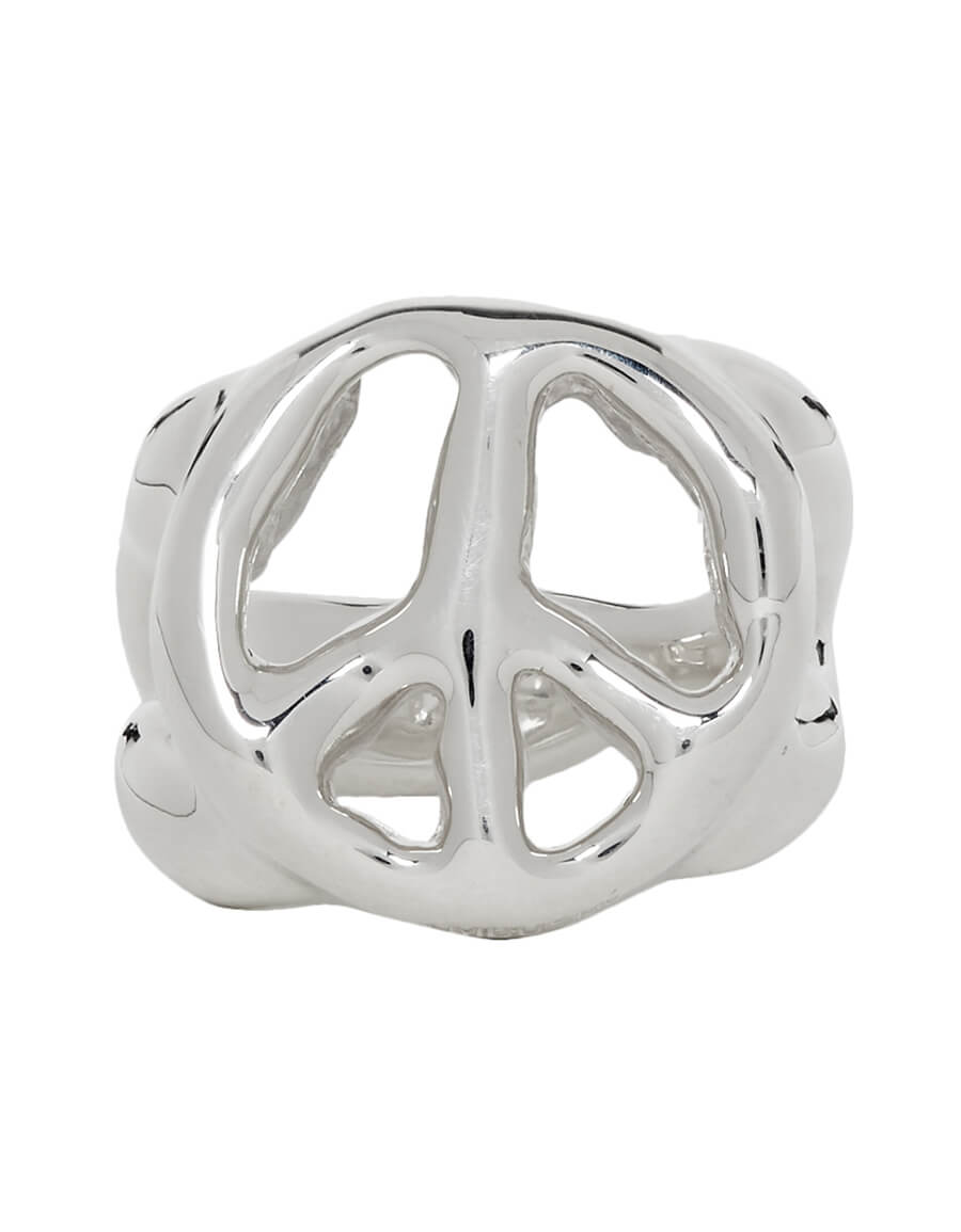 AMBUSH Silver Peace Ring