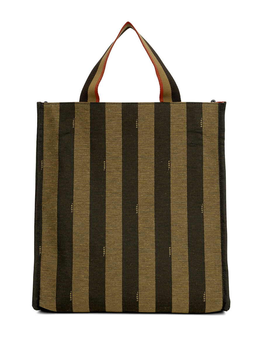 FENDI Brown Market Tote