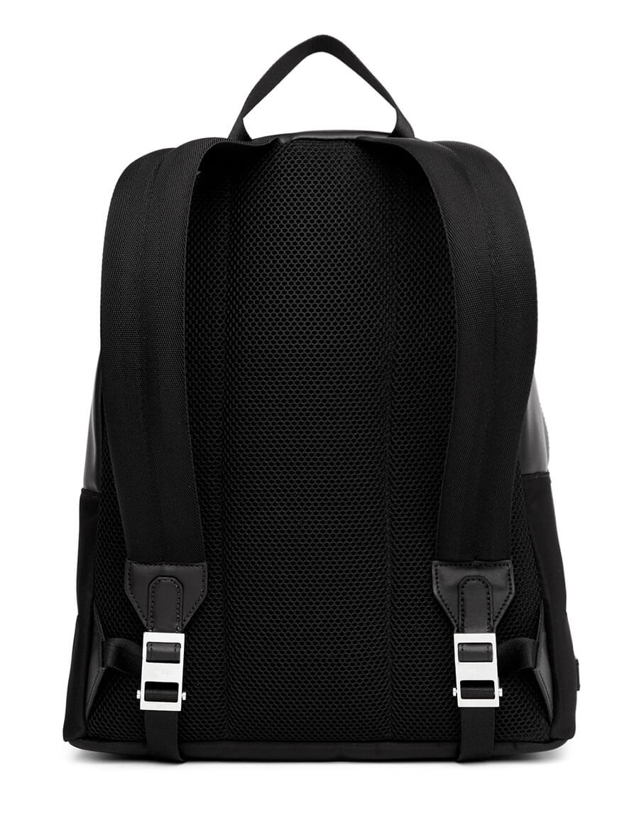 FENDI Black & White Bag Bugs Backpack