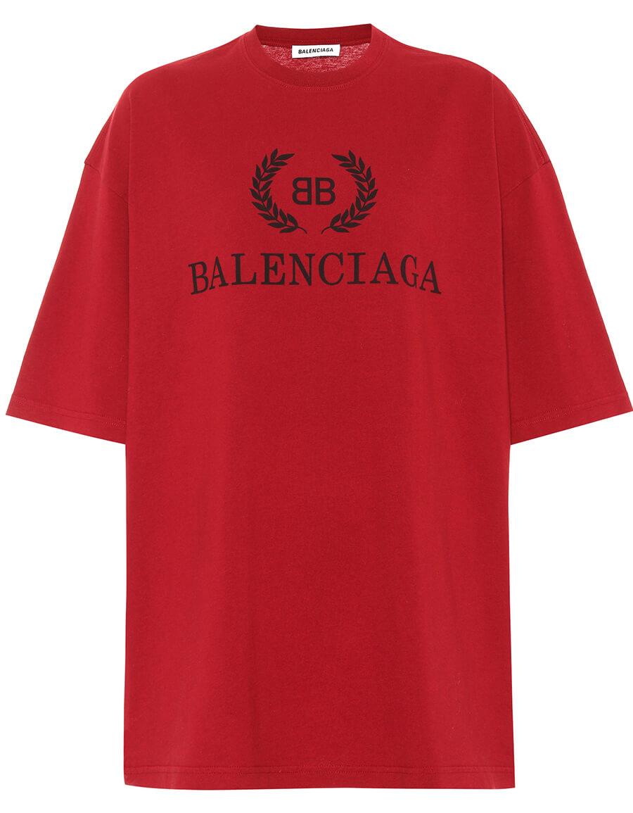 BALENCIAGA BB cotton T shirt
