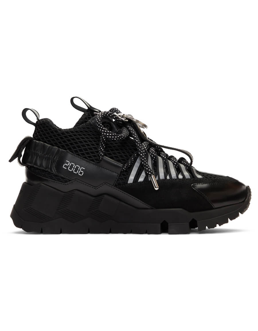 PIERRE HARDY Black Victor Cruz Edition VC1 Sneakers
