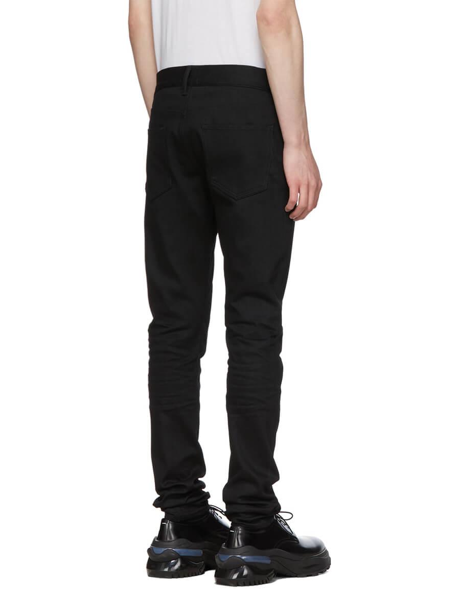 JOHN ELLIOTT Black 'The Cast 2' Jeans