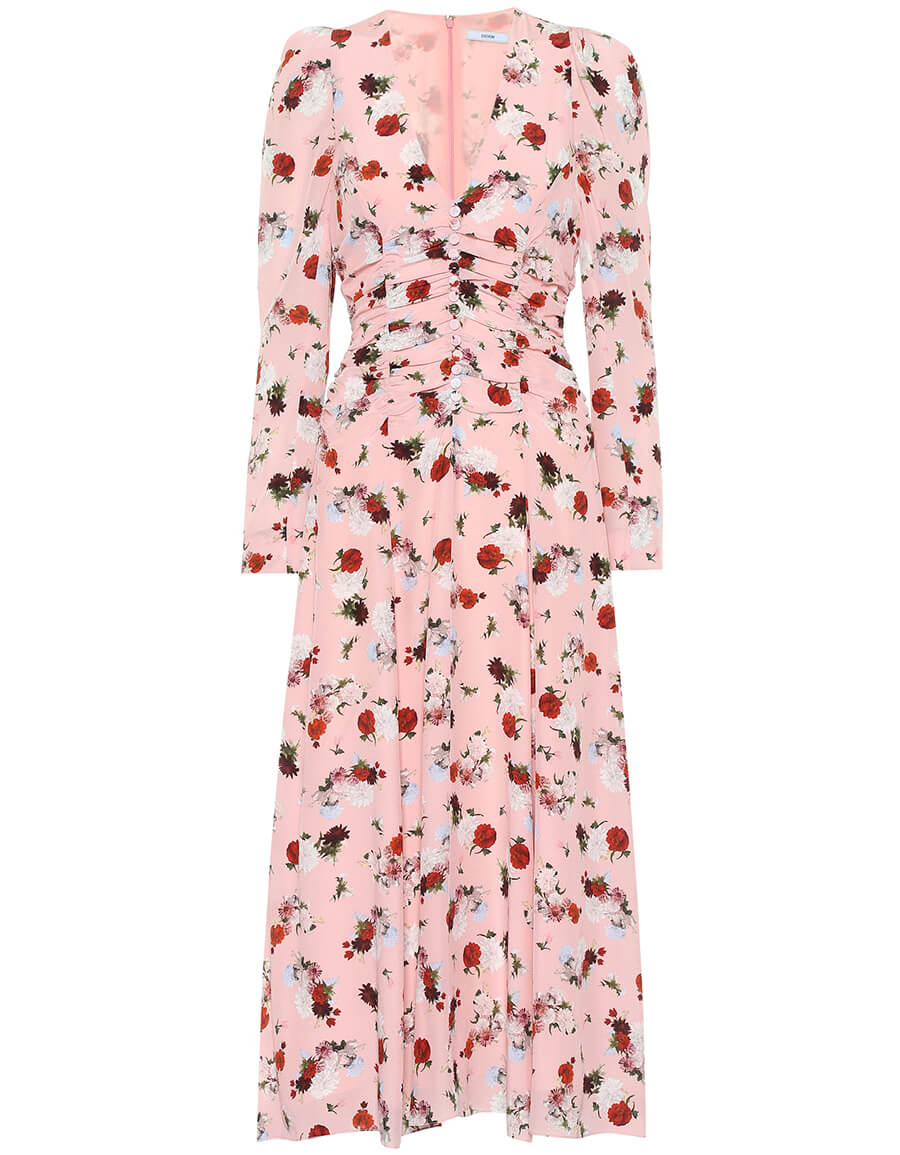 ERDEM Exclusive to Mytheresa – Annalee floral silk midi dress