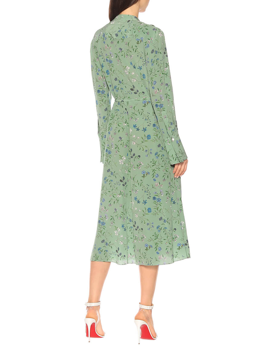 ALTUZARRA League floral silk dress