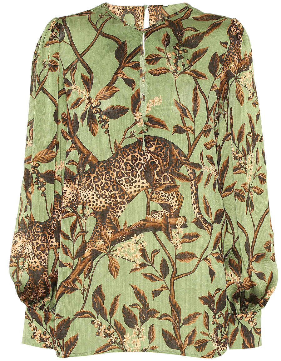 JOHANNA ORTIZ Gifts of Nature printed blouse