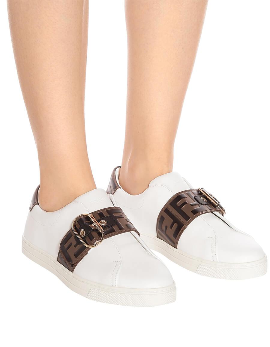 FENDI Leather sneakers · VERGLE