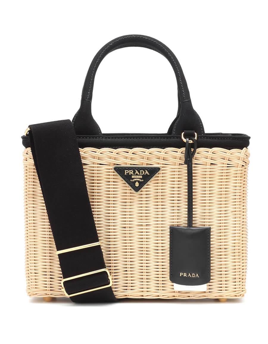 PRADA Bamboo basket bag