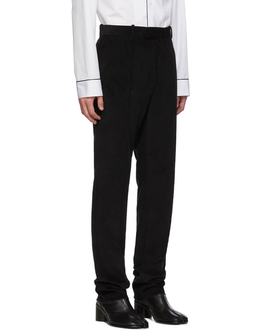 MAISON MARGIELA Black Corduroy Classic Suit