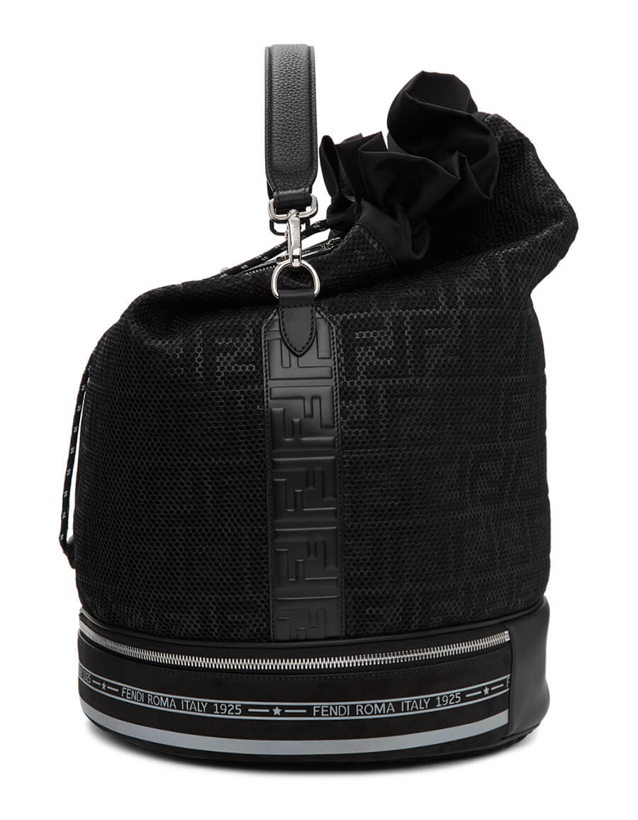 FENDI Black 'Forever Fendi' Mon Trésor Backpack