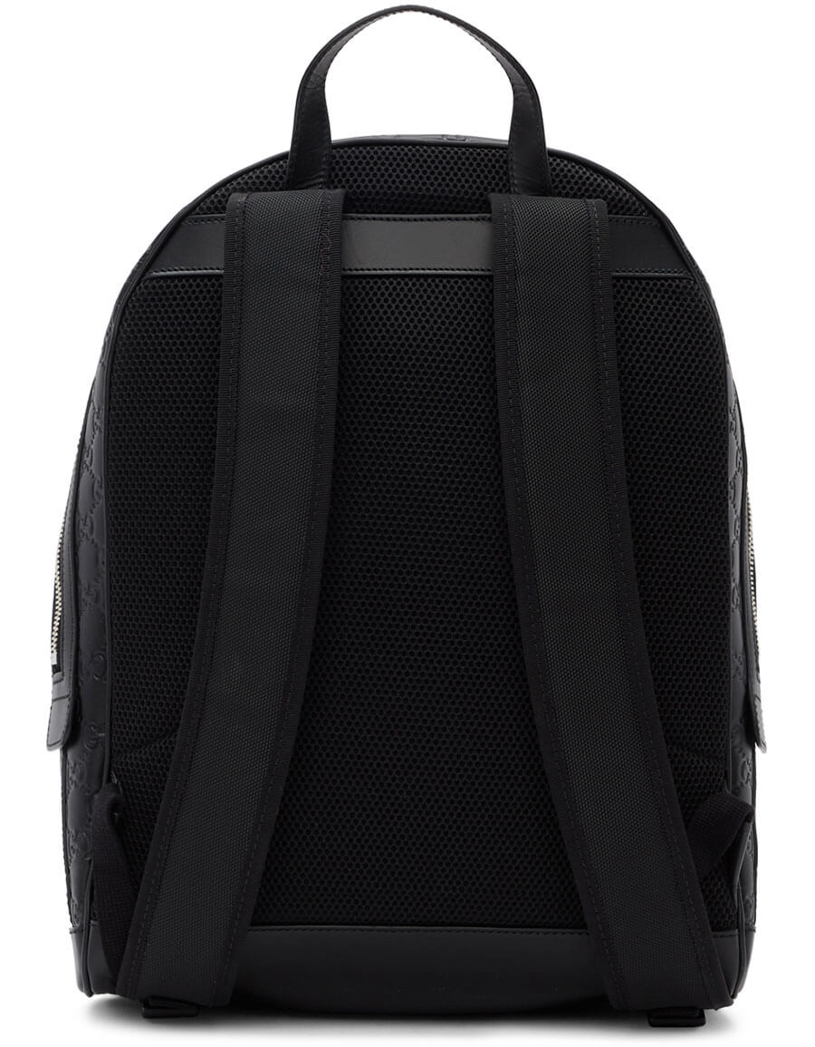 GUCCI Black Signature Backpack