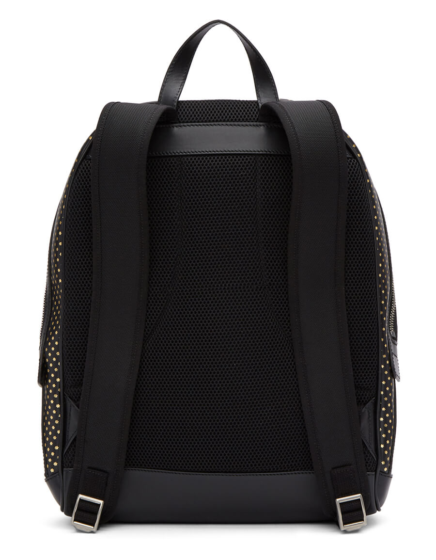 GUCCI Black & Gold 'Guccy' Magnetismo Backpack