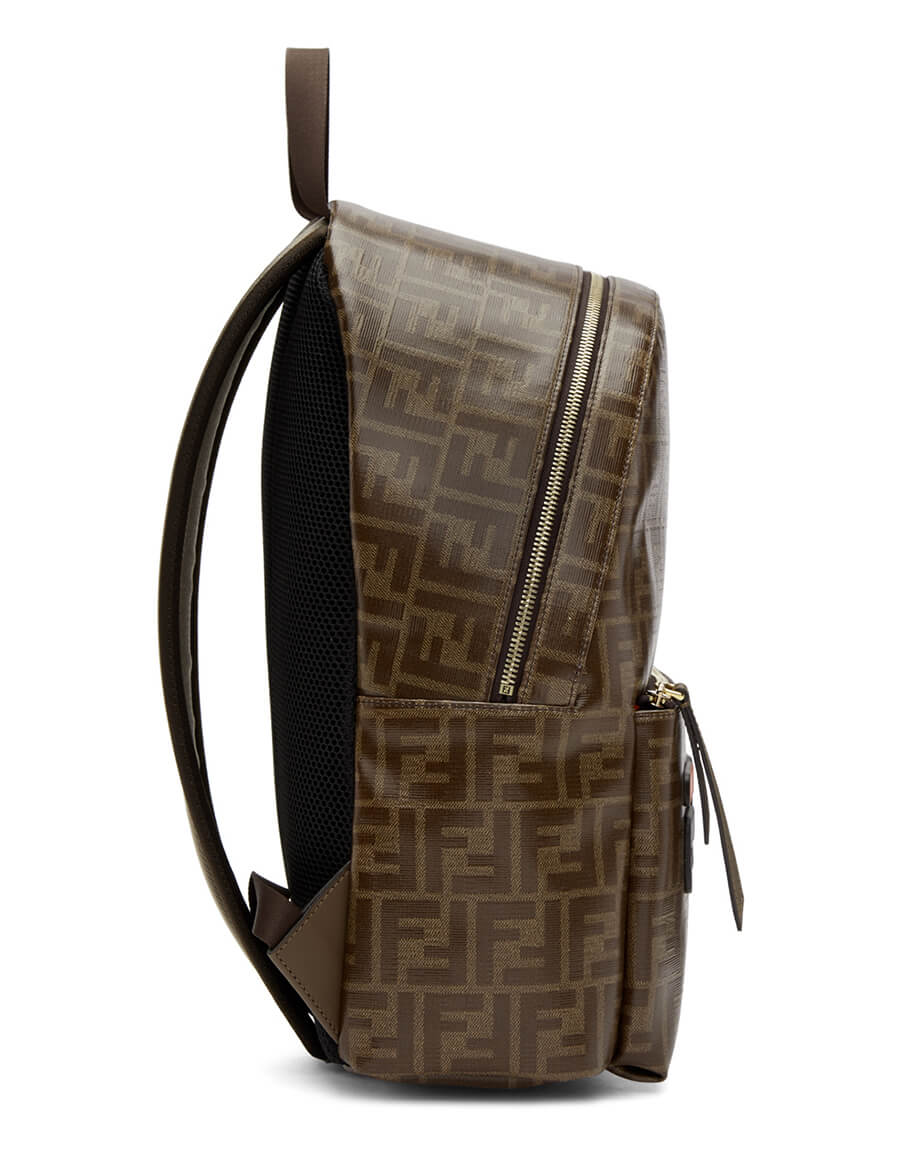 FENDI Brown 'Fendi Mania' Backpack