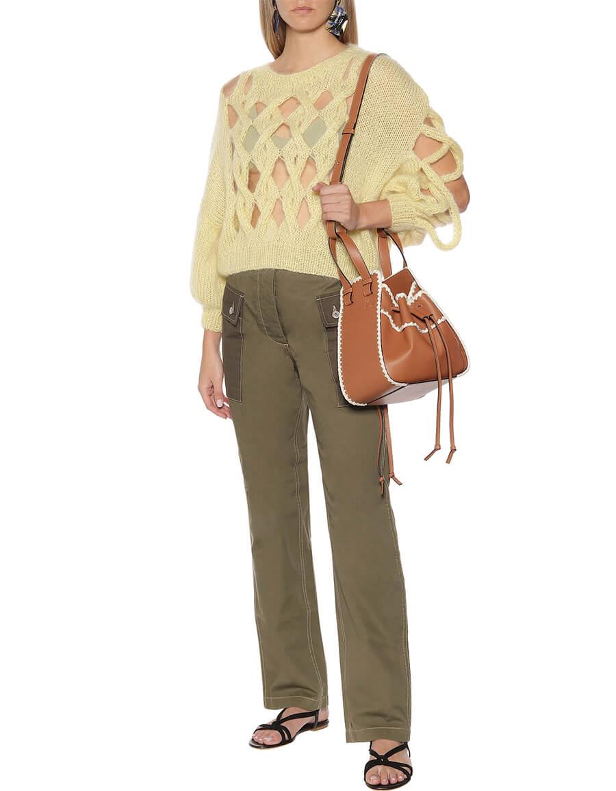 LOEWE Hammock Small crochet shoulder bag