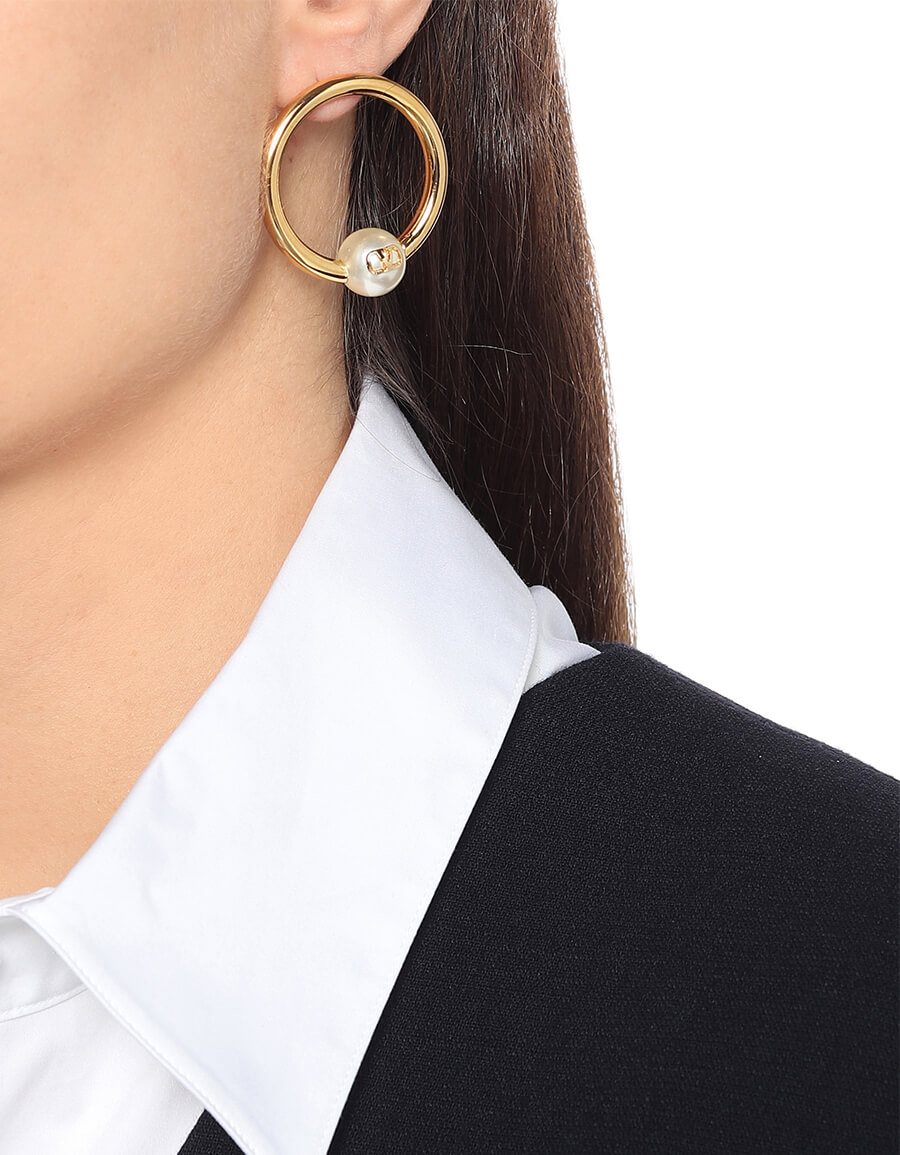 VALENTINO GARAVANI Valentino Garavani hoop earrings