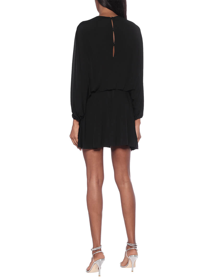 VALENTINO Embellished jersey dress