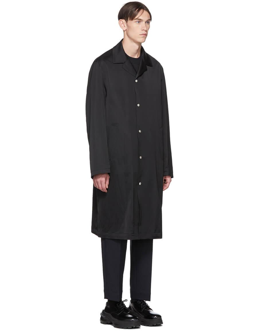JIL SANDER Black Arlo Coat