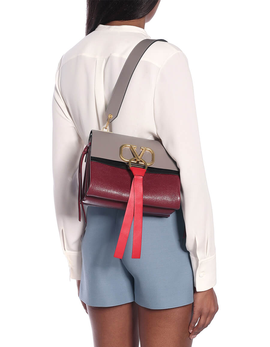 VALENTINO GARAVANI Valentino Garavani VRING Small leather shoulder bag