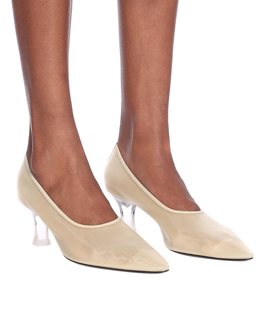 THE ROW Mesh pumps