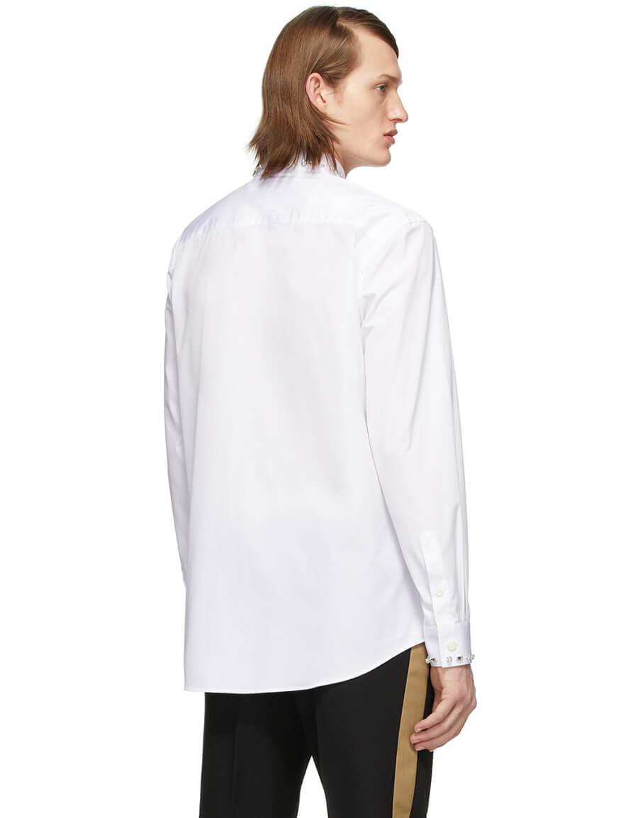 BURBERRY SSENSE Exclusive White Oxford Shirt