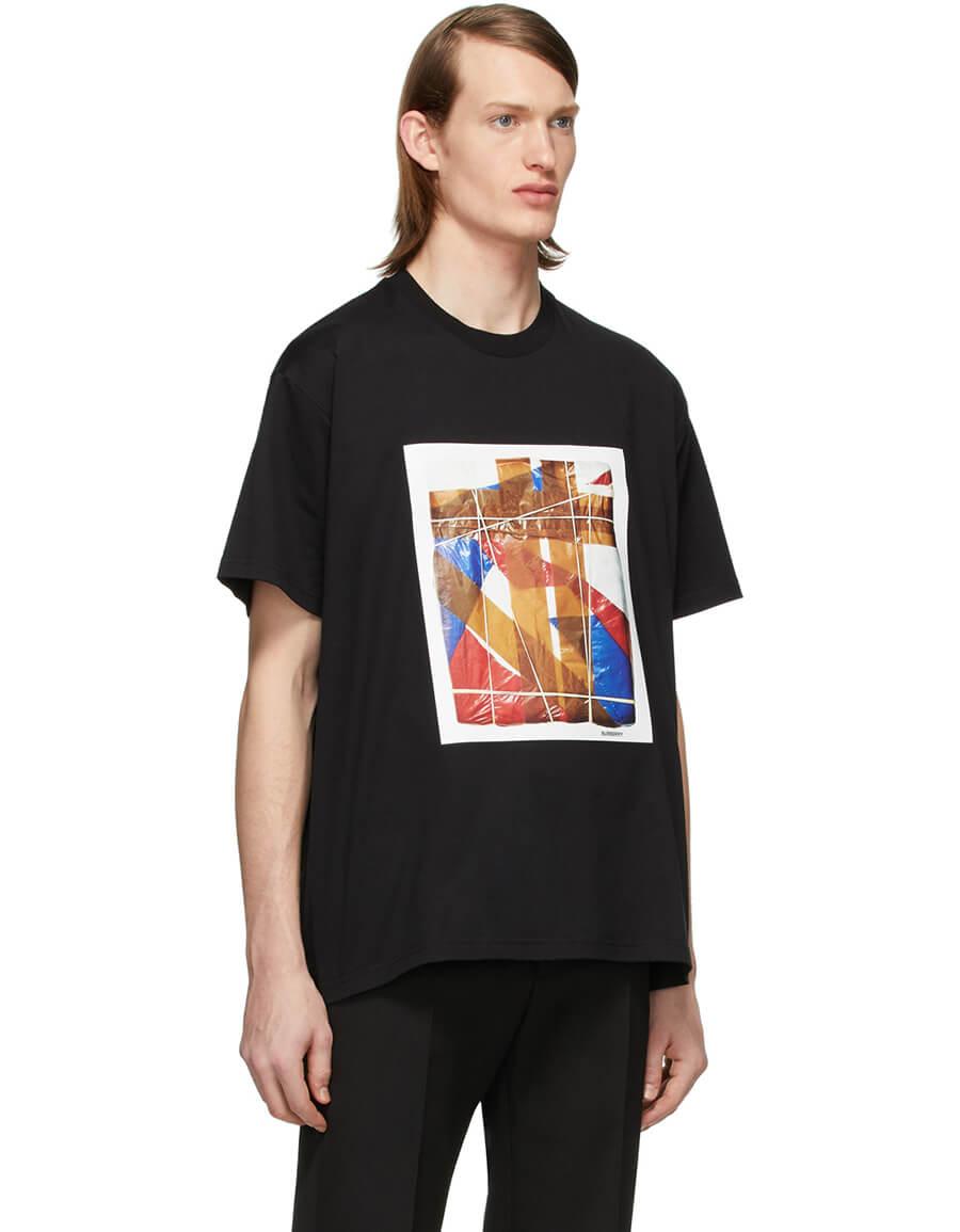 BURBERRY Black Styler T Shirt