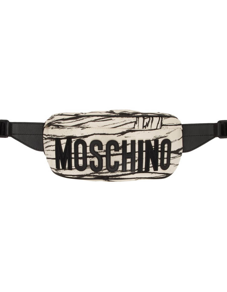 MOSCHINO Off White Mummy Waist Bag