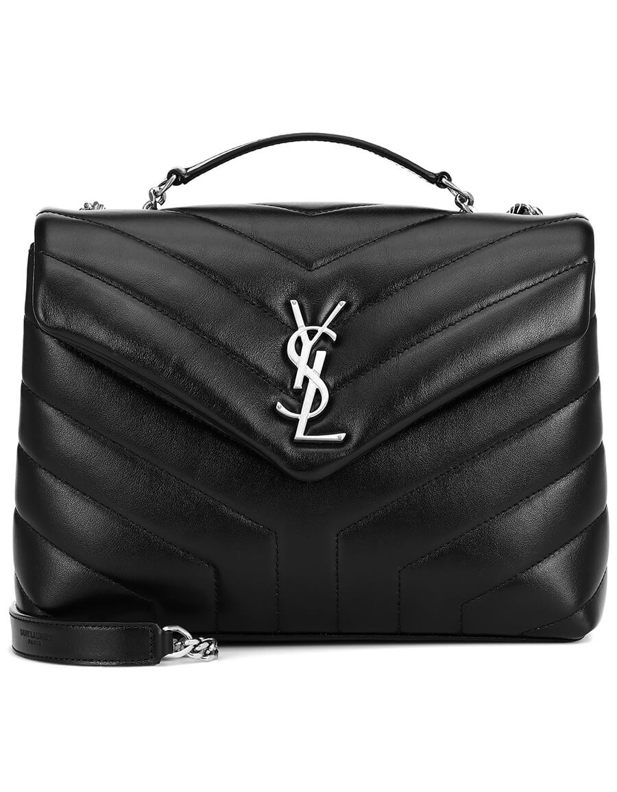 SAINT LAURENT Loulou Small leather shoulder bag