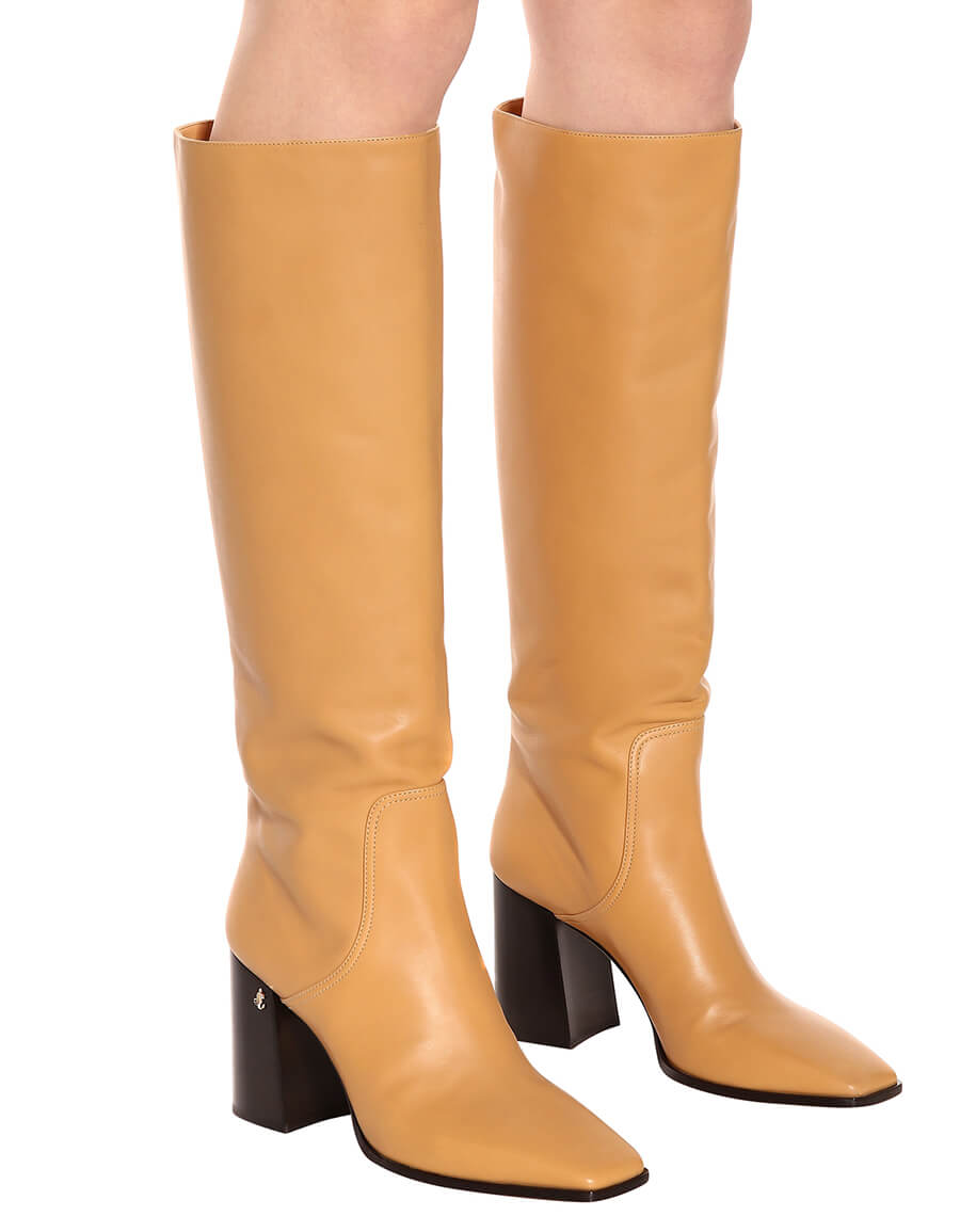 JIMMY CHOO Brionne 85 leather boots