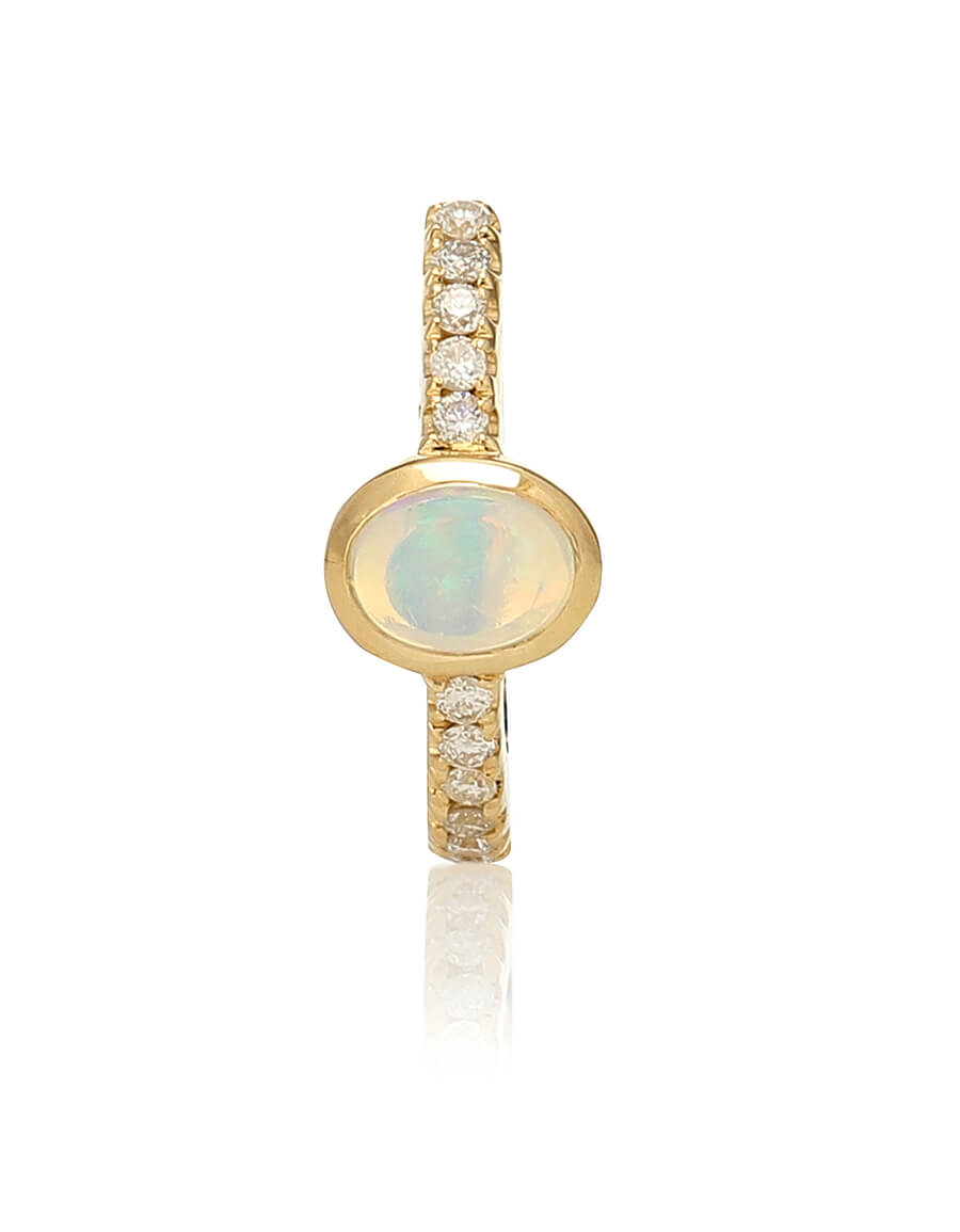 JACQUIE AICHE 14kt gold, diamond and gemstone earrings