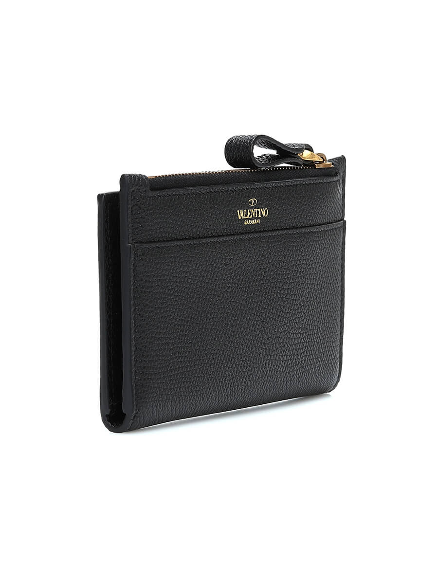 VALENTINO GARAVANI Valentino Garavani VLOGO leather wallet