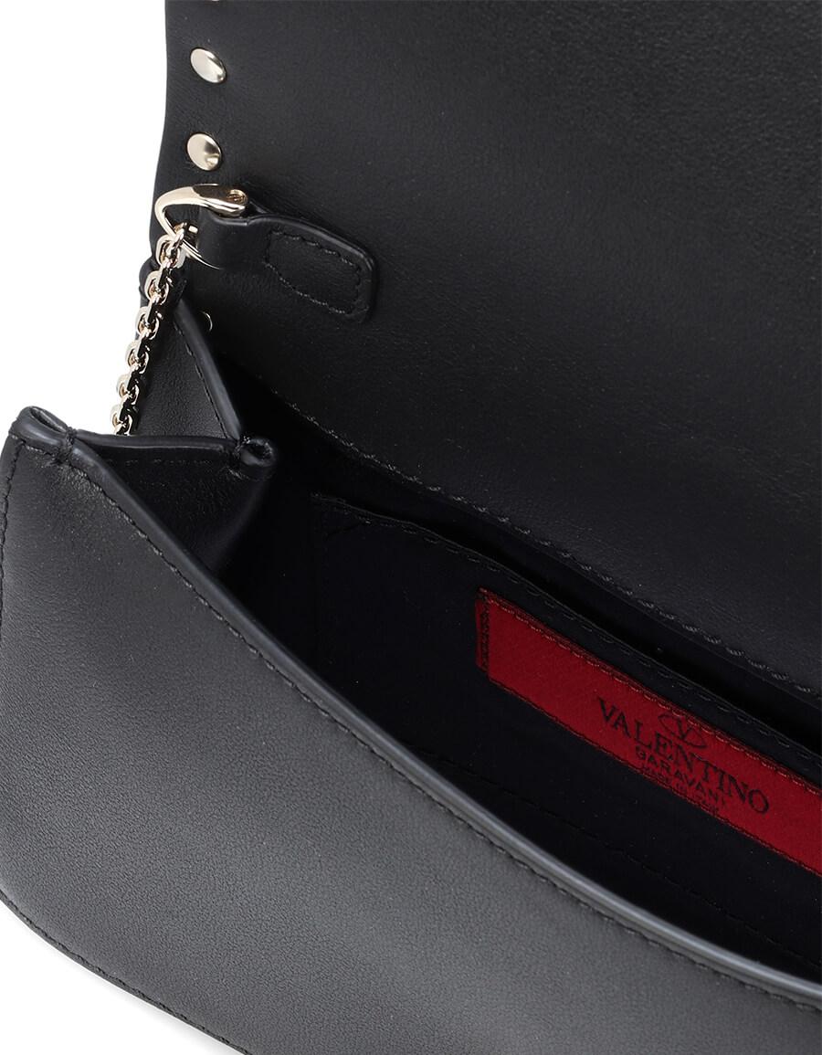 VALENTINO GARAVANI Valentino Garavani Rockstud leather clutch