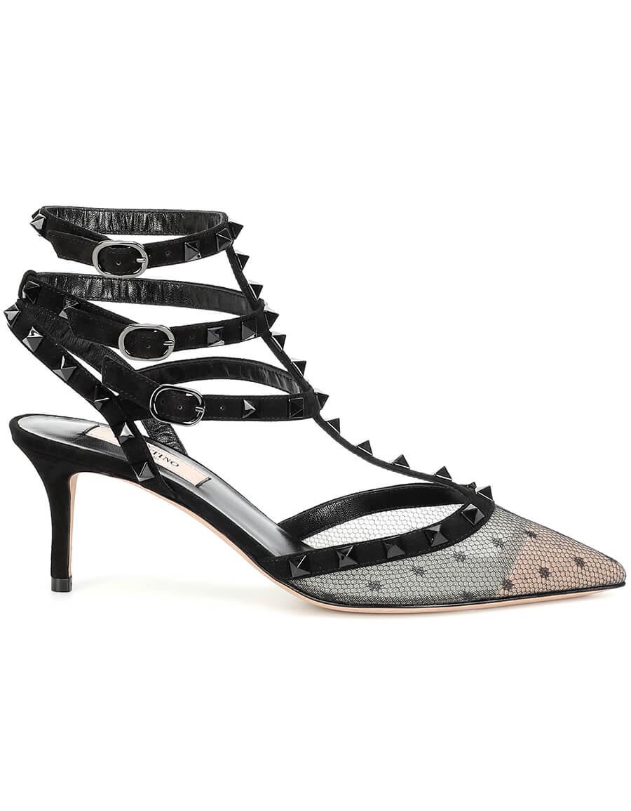 VALENTINO GARAVANI Valentino Garavani Rockstud leather pumps