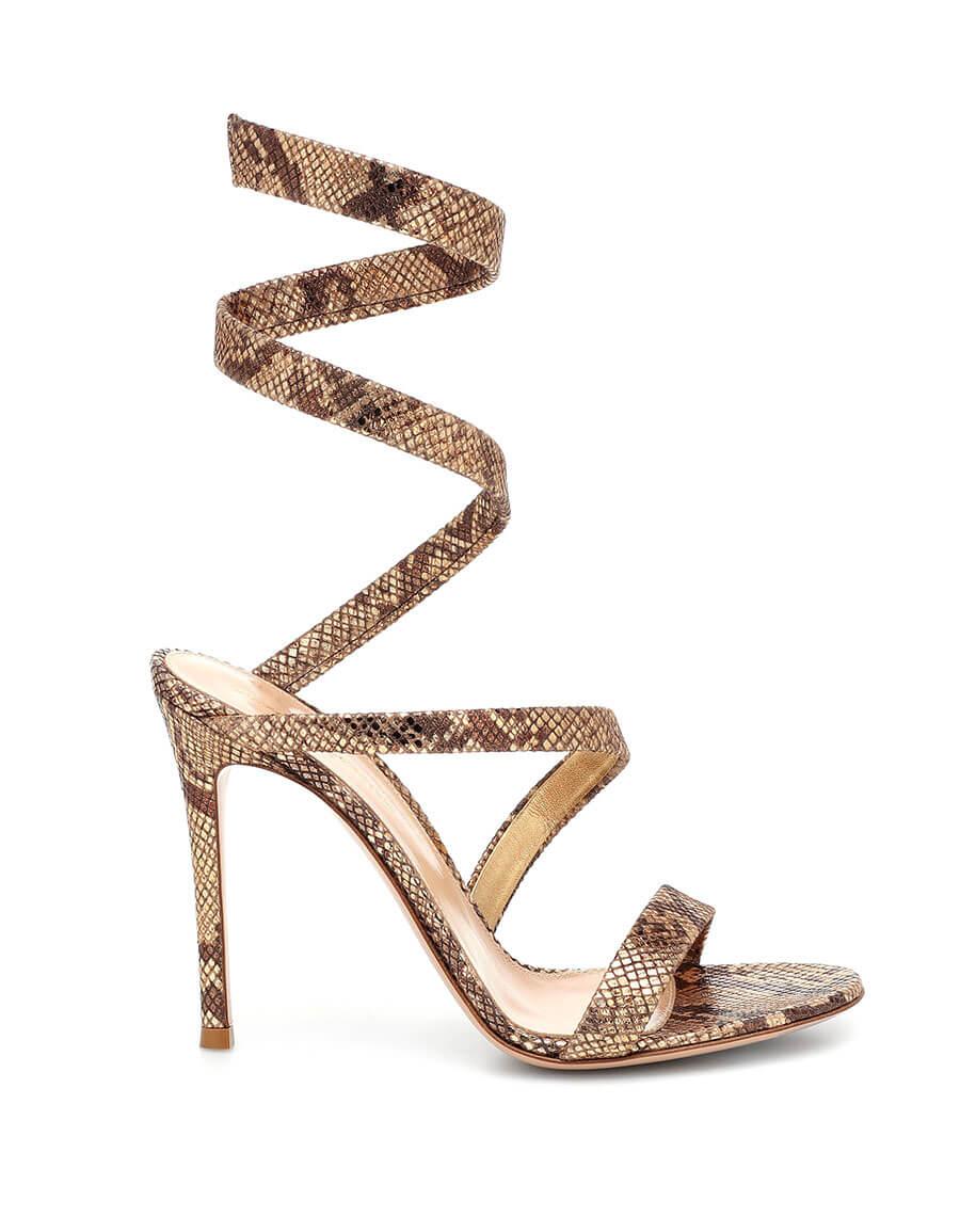 GIANVITO ROSSI Opera 105 leather sandals