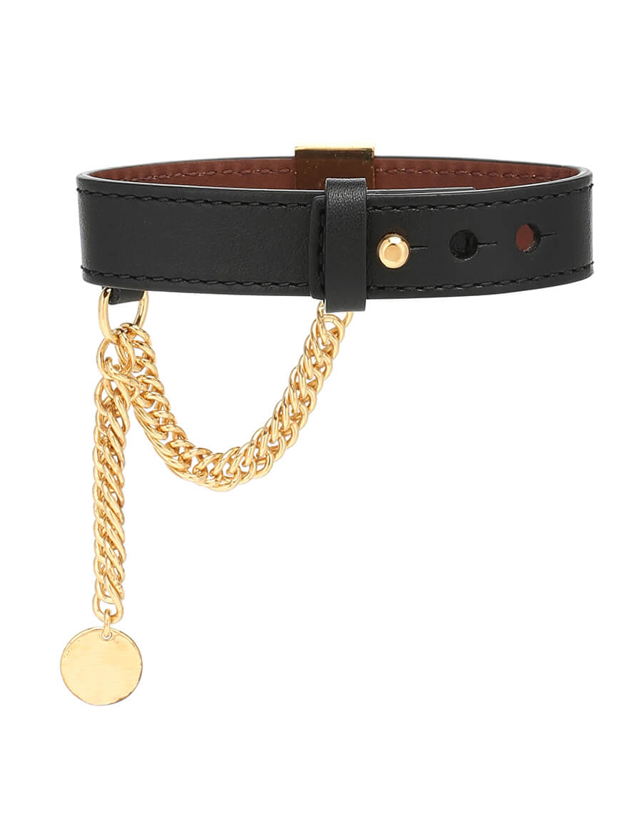 GIVENCHY Embellished leather bracelet