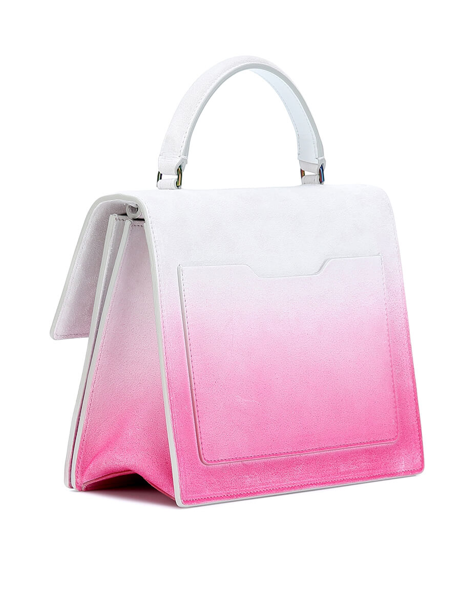 OFF WHITE Jitney 2.8 Sprayed leather tote
