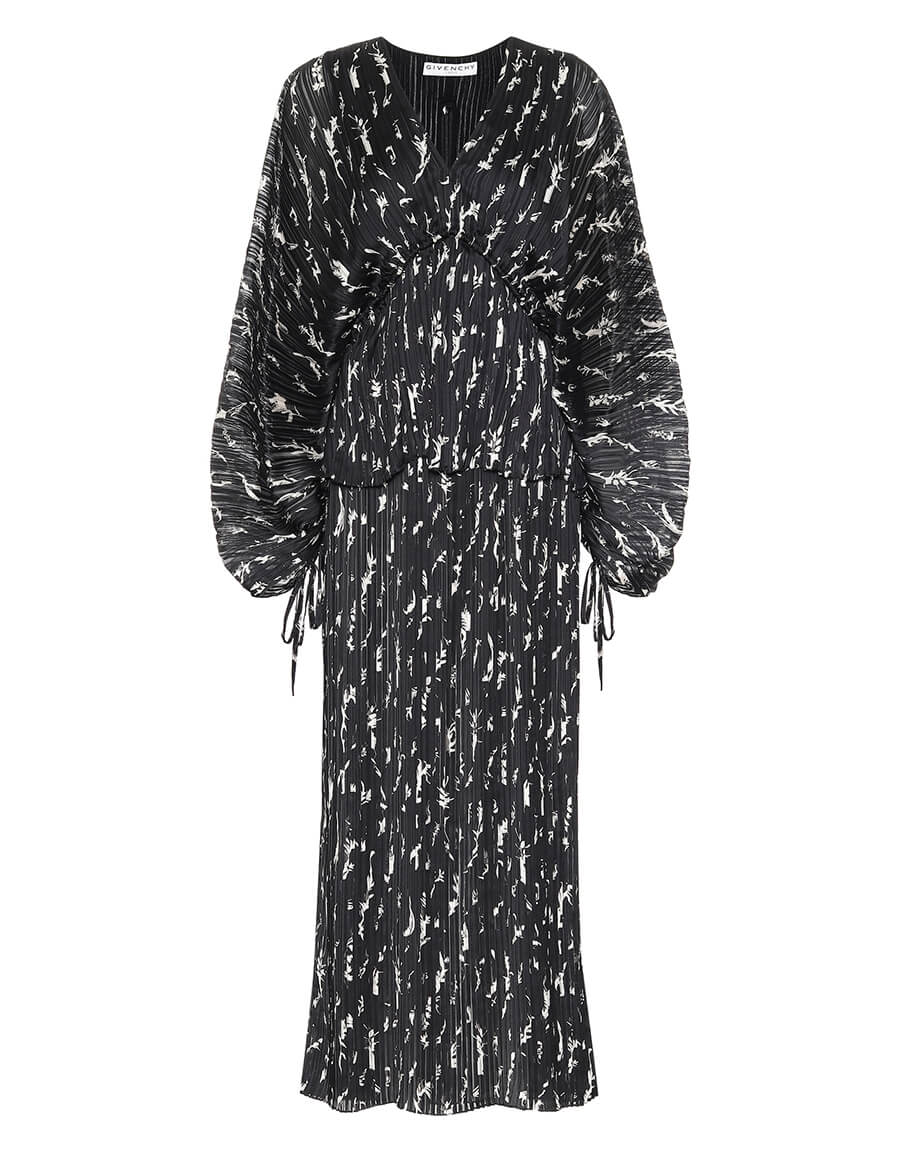 GIVENCHY Pleated maxi dress