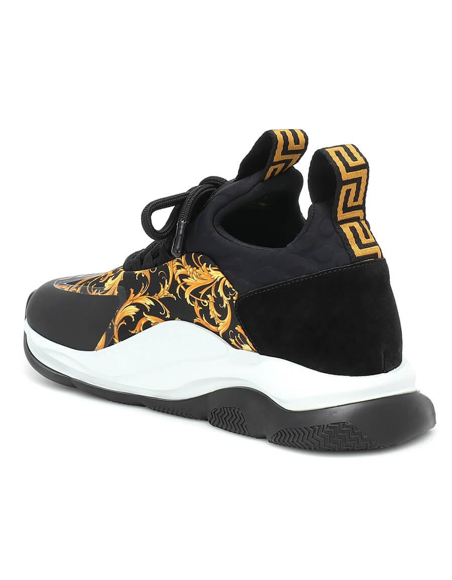 VERSACE Cross Chainer printed sneakers