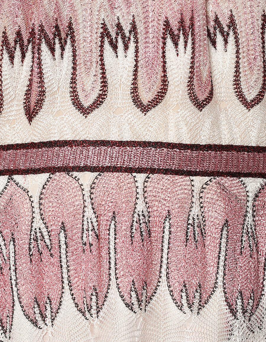 MISSONI Zig zag knit maxi dress
