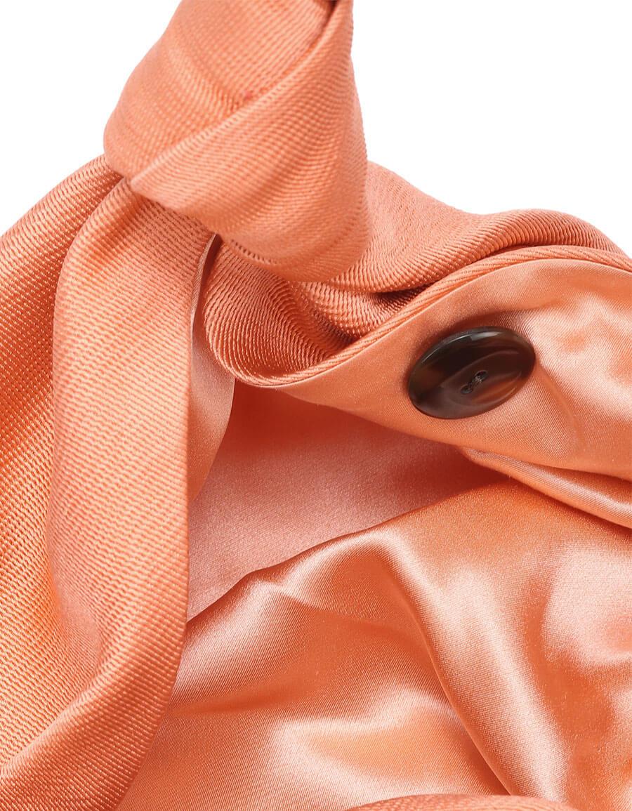 THE ROW Ascot Two silk mesh clutch