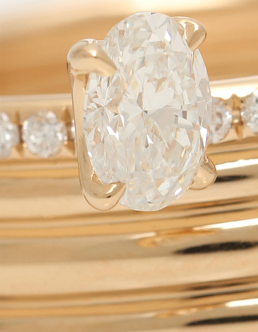 REPOSSI Blast 18kt rose gold ring with diamonds