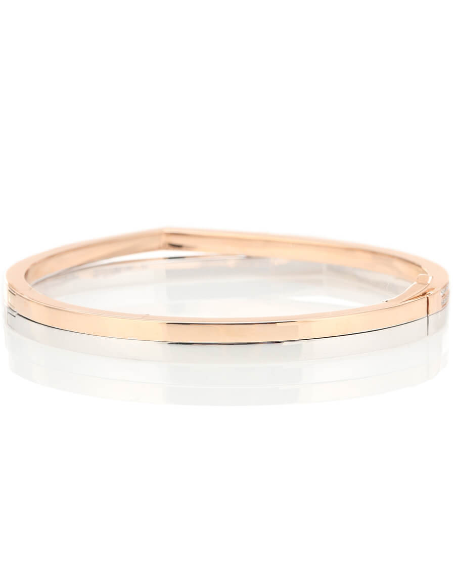 REPOSSI Exclusive to Mytheresa – Antifer 18kt rose gold and white gold bracelet with diamonds