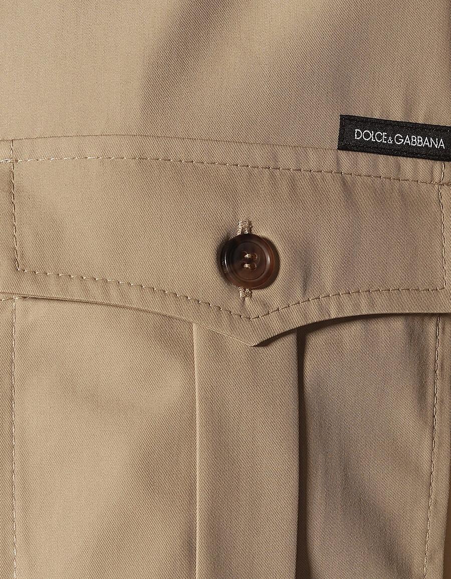 DOLCE & GABBANA Cotton twill shirt